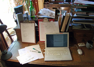 My desk, by A. C. H. Smith
